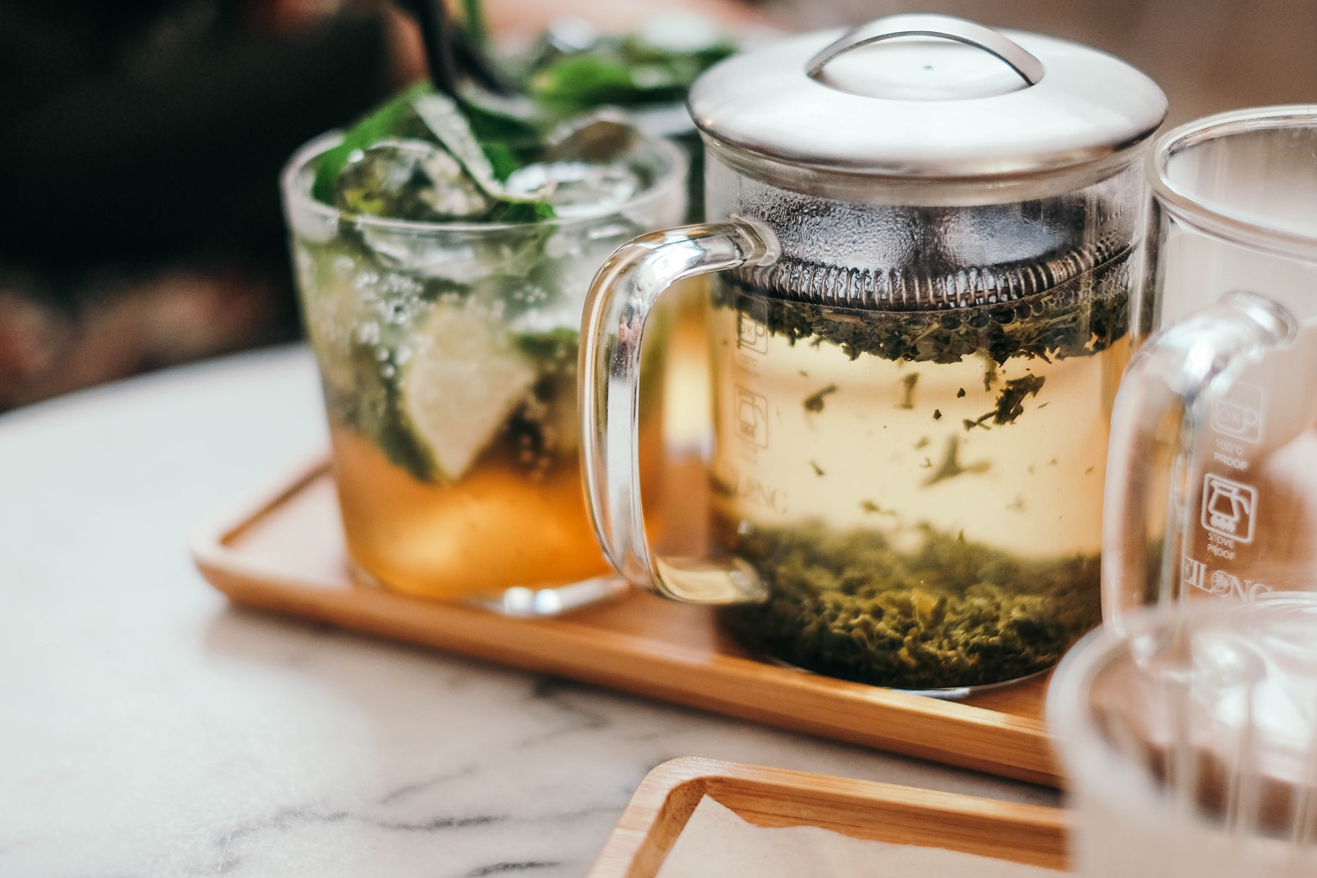 gingko tea strainer